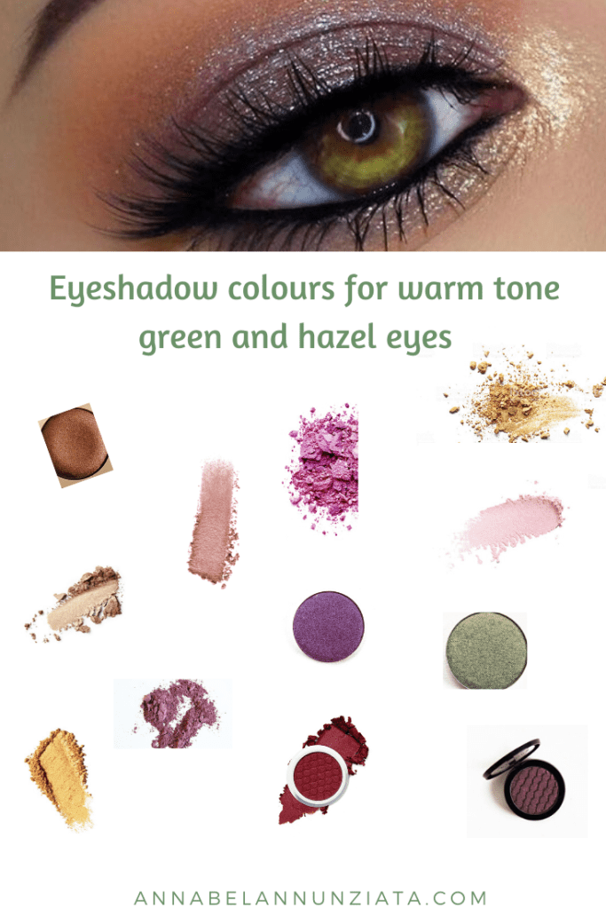 Eyeshadow Colours For Warm Tone Green And Hazel Eyes Blogmas Day 11