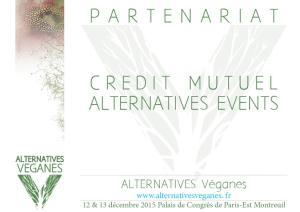 Plaquette numérique pour le dossier de demande de partanariat pour le salon Alternatives Véganes