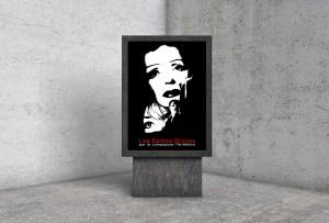 Affiche pour un spectacle de chants par la compagnie l'Airélémo