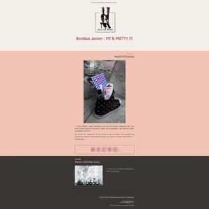 Newsletter pour le blog Smell of Female, sur les produits Birchbox avec Mailchimp