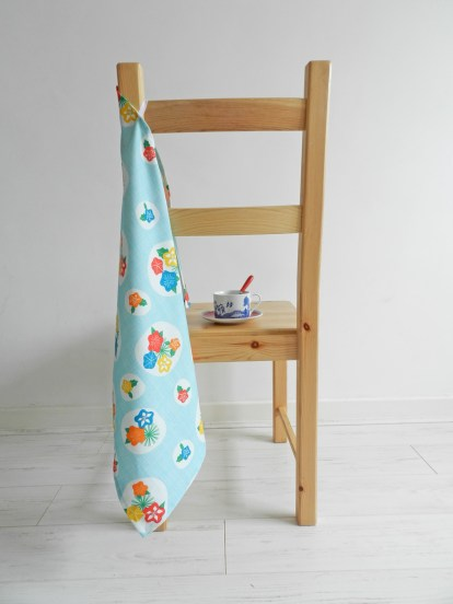 Flowerpress Tea Towel