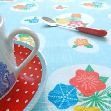 Flowerpress Fabric