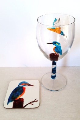 kingfisher-glass-and-coaster