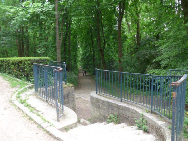 footpath, parc de Sceaux