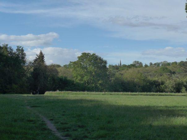 View of church from Parc de Sceaux