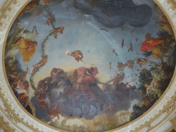 Ceiling of the Pavillon d'Aurore, Parc de Sceaux