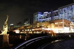 Night shot from Odaiba