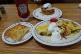 Hawaii Big Island - IHOP feast, yum!