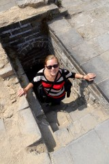 Anna at the Great Wall
