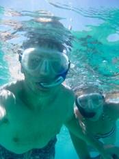 Hawaii Big Island - snorkelling selfie