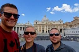 Selfie in the Vatican