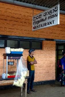 """Restaurant"" seen from the Kandy-Ella train"