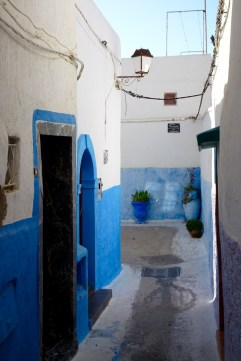 Inside the Rabat Kasbah