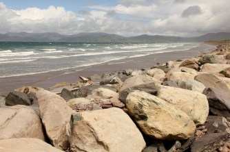 Rossbeigh Beach ... it was windy
