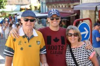 Ben reunited with his parents in Brantome