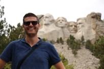 Ben at Mt Rushmore