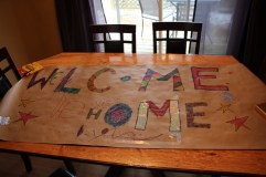 Tom's 'Welcome Home' poster