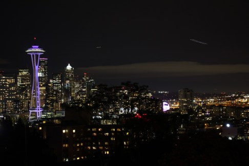 Seattle night shot from Kerry Park