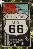 Route 66 began in Chicago