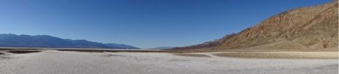 Badwater salt flats at Death Valley National Park