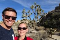 Selfie at Joshua Tree National Park