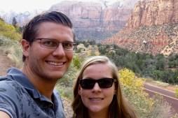 Selfie in Zion National Park, Utah
