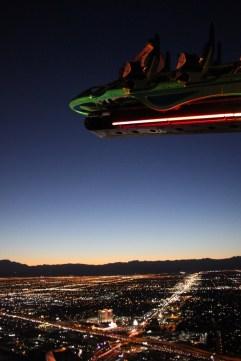 Stratosphere - there are people on that rollercoaster too!