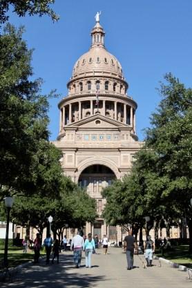 Texas Capitol Building in Austin