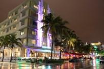 Art deco buildings in Miami Beach, Florida