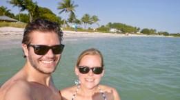 Selfie at Sombrero Beach, Florida Keys