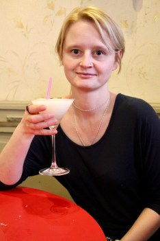 Marlena with a famous daiquiri from Floridita's