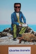 I think Ben makes a very convincing Charles Darwin at his research station on Santa Cruz Island, Galapagos