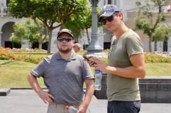 Ben and Matt in Lima, Peru