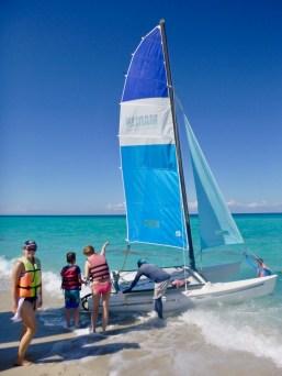 Sailing in Varadero
