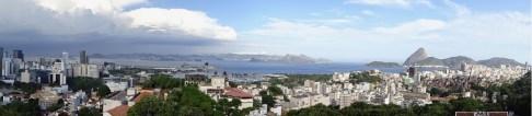 View of the city from Parque das Ruinas, Rio de Janeiro