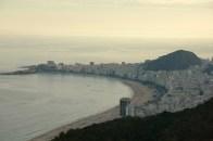 View of Copacabana beach from Sugar Loaf Mountain, Rio de Janeiro
