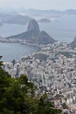 View of Sugar Loaf Mountain from the Christ the Redeemer statue, Rio de Janeiro