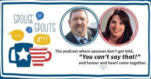 Spouse Spouts Radio Show Susan Reynolds Dave Etter Anna Blanch Rabe