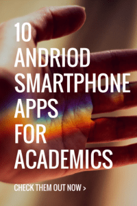 android smartphone apps for academics