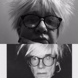 Andy Warhol blåsa
