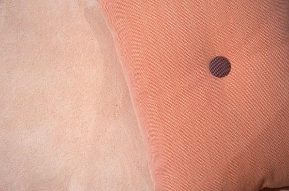 Vorwerk-Teppich / Detail in Rosa auf der DOMOTEX 2016 - annablogie