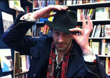 Antoine-Laurain with hat