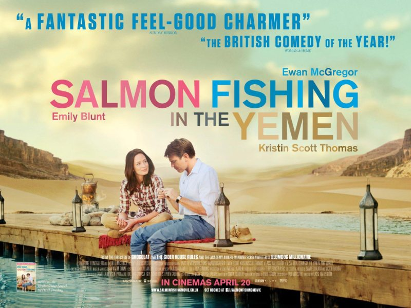 Book v Movie: Salmon Fishing in the Yemen