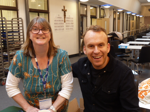 An afternoon with Matt Haig and 400 schoolchildren!