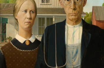 Grant Wood American Gothic