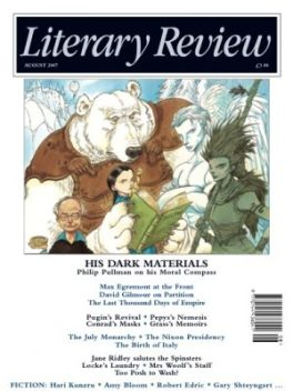 Literary Review cover chris riddell