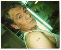 Nine McKellen Elvish '9' Tattoo