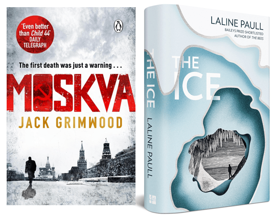 Two excellent thrillers - Moskva and The Ice