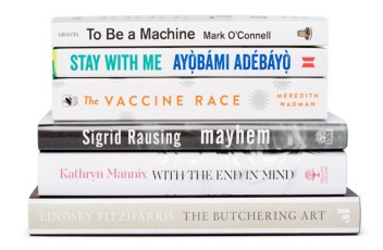 Wellcome Book Prize 2018 shortlist