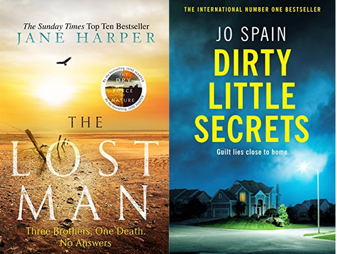 Two new crime thrillers - Harper and Spain